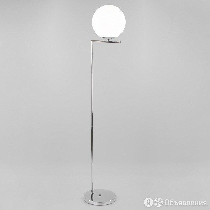 Торшер Eurosvet Frost 01083/1 хром по цене 13800₽ - Настольные лампы и светильники, фото 0