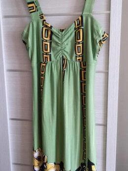 Платья - Яркий зелененький сарафан Германия , 0