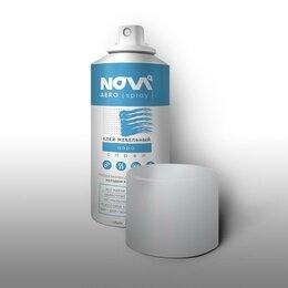 Строительные смеси и сыпучие материалы - клей спрей NOVA!, 0