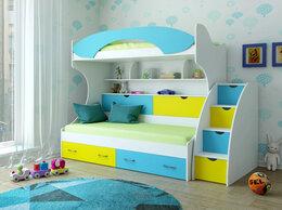 Кроватки - Кровать детская двухъярусная КР-3, 0