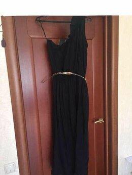 Платья - Платье сарафан новое 46 48 М L черное длинное…, 0
