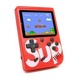 Ретро-консоли и электронные игры - Мини игровая приставка Plus Sup Game Box 400in1, 0