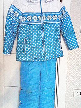Комплекты верхней одежды - Зимний костюм для девочки на тинсулейте, 0