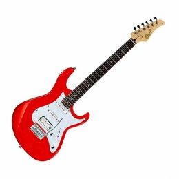 Электрогитары и бас-гитары - CORT G250-SRD Электрогитара, 6 струн, 22 лада, цвет красный, 0