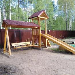 Игровые домики и палатки - Детская площадка.Качели стационарные., 0