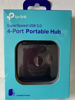 USB-концентраторы - TP-link UH400 Хаб (разветвитель), 0