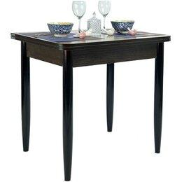 Столы и столики - Стол ломберный венге + ноги венге, 60(+60)*80, 0