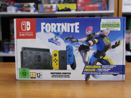 Игровые приставки - Nintendo Switch Особое издание Fortnite (Без…, 0