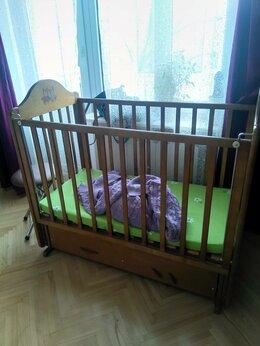 Кроватки - Кроватка для малышей (под матрас 60х120 см) + 2…, 0