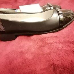 Балетки, туфли - Туфли новые для школьницы , 0