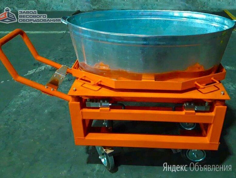 Весы для животных с подвесной клеткой на колёсах ВП-С 1000 кг (1 тонна) по цене 110000₽ - Прочие товары для животных, фото 0