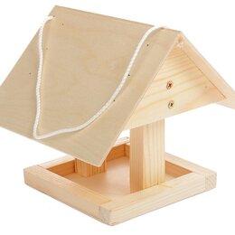 Игрушки и декор  - Кормушка для птиц Избушка, 0