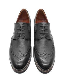 Туфли - Броги черные, 0