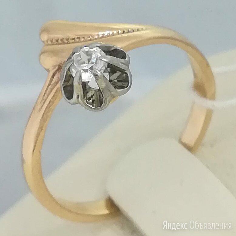 кольцо / размер 16,5 / 2,19г / золото 583 по цене 8101₽ - Кольца и перстни, фото 0
