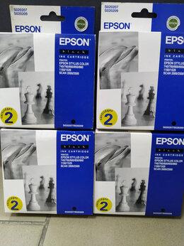 Картриджи - Картриджи  Оригинальный картридж Epson  s020207, 0
