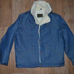 Куртки - Куртка джинсовая на меху Maverick Blue Bell, Made in USA (50-52), 0