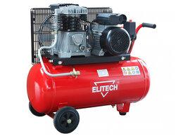 Воздушные компрессоры - Компрессор масляный ремен. Elitech КПР 50/360/2.2, 0