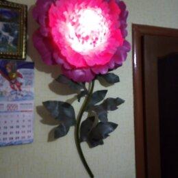 Ночники и декоративные светильники - Пион 0,60 см., высота 1,20., 0