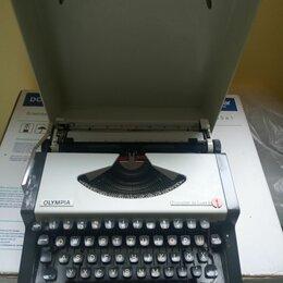 Другое - компактная печатная машинка с немецким шрифтом из ФРГ, 0