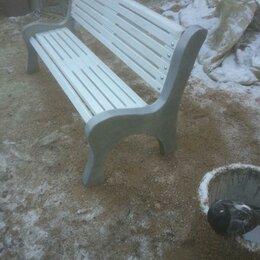 Скамейки - Скамейка садовая с бетонными боковинами дл.1.8м, 0