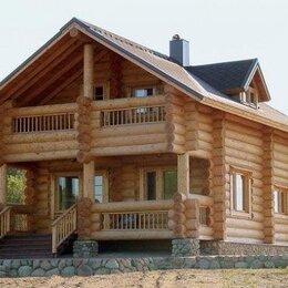 Готовые строения - Сруб дома и бани из бревна ручной рубки , 0