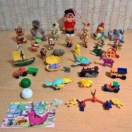 Киндер-сюрприз - Игрушки из киндер сюрприза, керамические фигурки и другие., 0