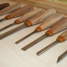 Рукоделие, поделки и сопутствующие товары - Набор стамесок для резьбы по дереву, 0
