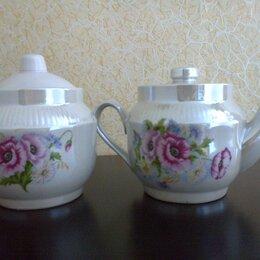 Заварочные чайники - Чайник заварочный и сахарница, 0