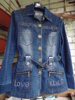 Куртки - джинсовая удлин. куртка, 0