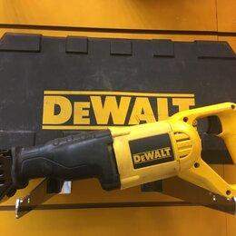 Пилы сабельные и электроножовки - Сабельная пила DeWALT DW304PK, 0