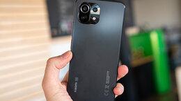 Мобильные телефоны - Xiaomi Mi11 lite 6/128gb черный новый, 0