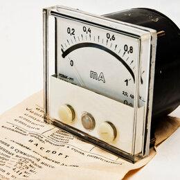Радиодетали и электронные компоненты - Милиамперметры постоянного тока электроконтактные М286К-М1, 0