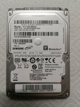 Внутренние жесткие диски - Жёсткий диск SEAGATE Samsung 750 Гб 2.5, 0