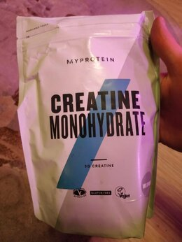 Ингредиенты для приготовления напитков - 0,5кг новый креатин моногидрат Myprotein protein, 0