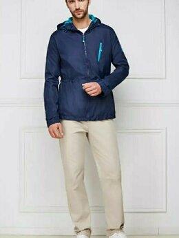 Куртки - Ветровка мужская с капюшоном, 0
