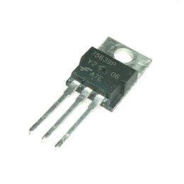 Запчасти к аудио- и видеотехнике - Транзистор HUF75639P3 MOSFET 100V 56A, 0