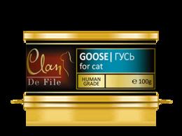 Корма  - Консервы для кошек Clan De File № 76 (гусь), 0