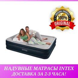 Надувная мебель - Надувные матрасы Intex с насосом кровати…, 0