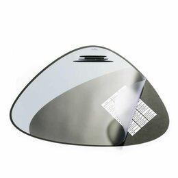 Скатерти и салфетки - Покрытие на стол DURABLE треугольн черное с серым,прозрачный лист  7208-01, 0