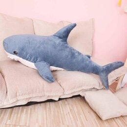 Мягкие игрушки - Мягкая игрушка Акула 100 см, 0