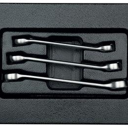 Наборы инструментов и оснастки - Набор разрезных ключей, ложемент, 3 предмета KING TONY 9-1303MR, 0