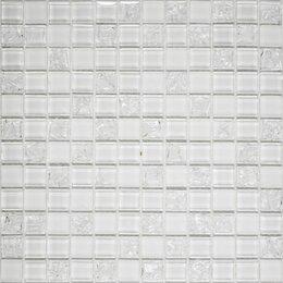 Мозаика - Мозайка WHITE CRUSH 300*300*8мм  1/15, 0