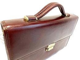 Портфели - Портфель мужской кожаный RF, 0