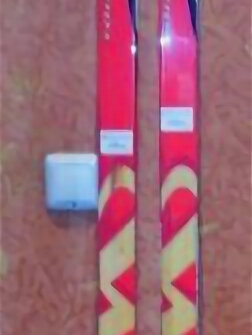 Беговые лыжи - Лыжи Marpetti пластиковые беговые с насечкой, 0