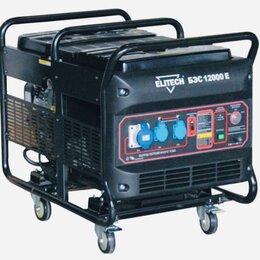 Электрогенераторы - Электрогенератор бензиновый 10 кВт 25 л 3 розетки , 0