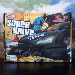 Ретро-консоли и электронные игры - Sega Super Drive GTA 140игр, 0