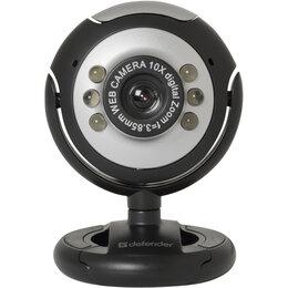 Веб-камеры - Вебкамера Defender C-110, 0.3 mp, микрофон, 0