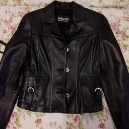 Куртки - Куртка кожа, 0