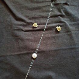Комплекты - Бижутерия комплект: серьги и цепочка, 0