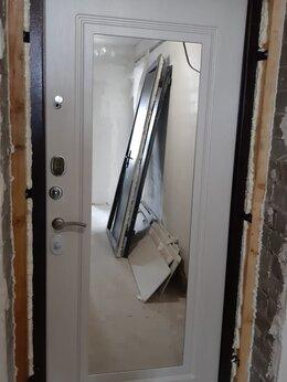 Входные двери - Входные металлические двери с зеркалом, 0